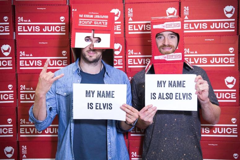Elvis Watt and Elvis Dickie